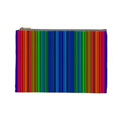 Strips Cosmetic Bag (Large)