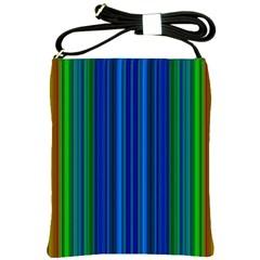 Strips Shoulder Sling Bag
