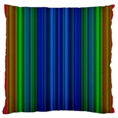 Strips Large Cushion Case (two Sided)