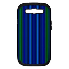 Strips Samsung Galaxy S III Hardshell Case (PC+Silicone)