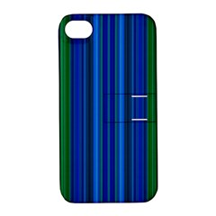 Strips Apple iPhone 4/4S Hardshell Case with Stand