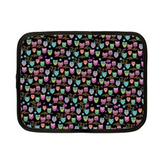 Happy Owls Netbook Case (Small)