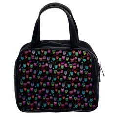 Happy Owls Classic Handbag (Two Sides)