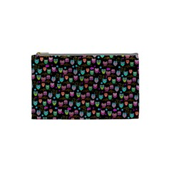 Happy Owls Cosmetic Bag (small)