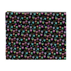 Happy Owls Cosmetic Bag (XL)
