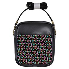 Happy Owls Girls Sling Bag