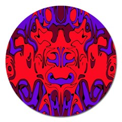 Abstract Magnet 5  (Round)