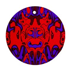 Abstract Round Ornament (Two Sides)