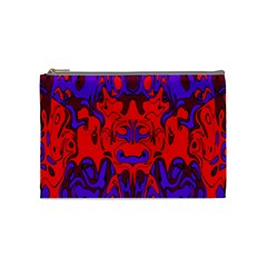 Abstract Cosmetic Bag (medium)