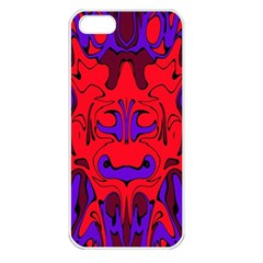 Abstract Apple Iphone 5 Seamless Case (white)