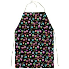 Happy Owls Full Print Apron