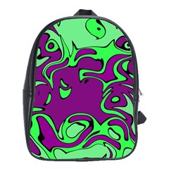 Abstract School Bag (Large)
