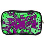 Abstract Travel Toiletry Bag (Two Sides) Front