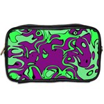 Abstract Travel Toiletry Bag (Two Sides) Back