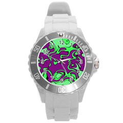 Abstract Plastic Sport Watch (Large)