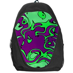 Abstract Backpack Bag