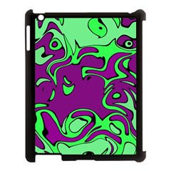 Abstract Apple iPad 3/4 Case (Black)
