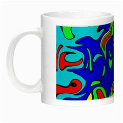 Abstract Glow In The Dark Mug