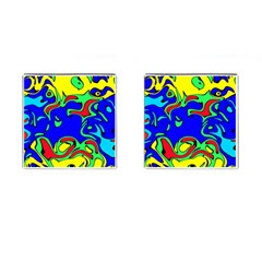 Abstract Cufflinks (Square)