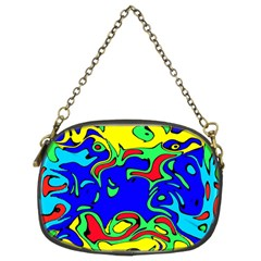 Abstract Chain Purse (Two Sided)