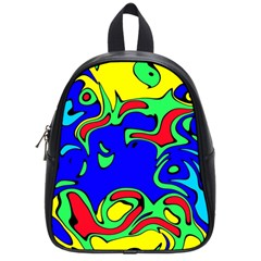 Abstract School Bag (small)