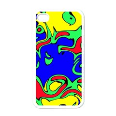 Abstract Apple iPhone 4 Case (White)