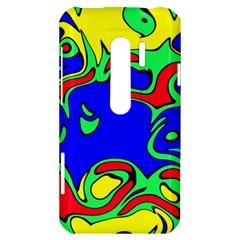 Abstract HTC Evo 3D Hardshell Case