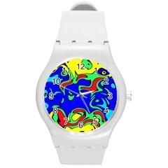 Abstract Plastic Sport Watch (medium)