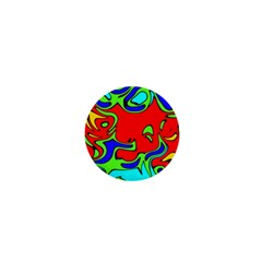 Abstract 1  Mini Button Magnet