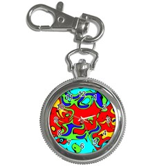 Abstract Key Chain & Watch