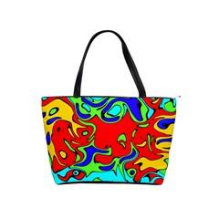 Abstract Large Shoulder Bag