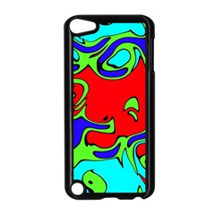 Abstract Apple iPod Touch 5 Case (Black)