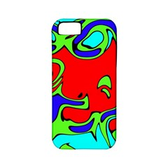 Abstract Apple iPhone 5 Classic Hardshell Case (PC+Silicone)