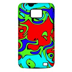 Abstract Samsung Galaxy S II Hardshell Case (PC+Silicone)