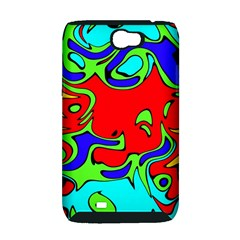 Abstract Samsung Galaxy Note 2 Hardshell Case (PC+Silicone)