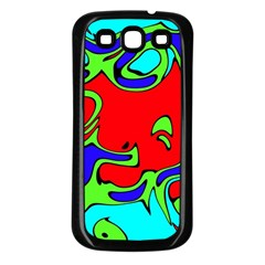 Abstract Samsung Galaxy S3 Back Case (Black)