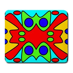 Abstract Large Mouse Pad (Rectangle)