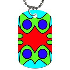 Abstract Dog Tag (two Sided)