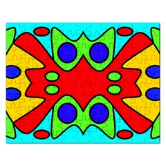 Abstract Jigsaw Puzzle (Rectangle)