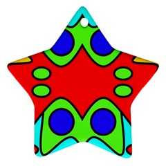 Abstract Star Ornament (Two Sides)
