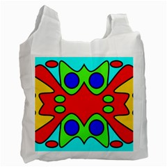 Abstract Recycle Bag (Two Sides)
