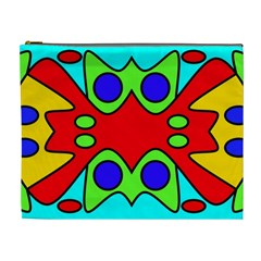 Abstract Cosmetic Bag (xl)
