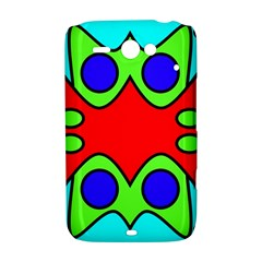 Abstract HTC ChaCha / HTC Status Hardshell Case