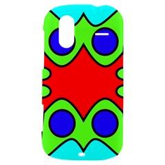 Abstract HTC Amaze 4G Hardshell Case