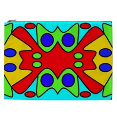 Abstract Cosmetic Bag (XXL)