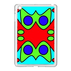 Abstract Apple Ipad Mini Case (white)