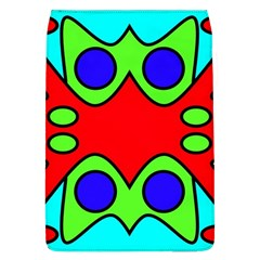 Abstract Removable Flap Cover (Large)