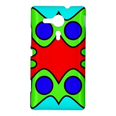 Abstract Sony Xperia Sp M35H Hardshell Case