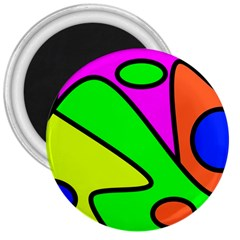 Abstract 3  Button Magnet