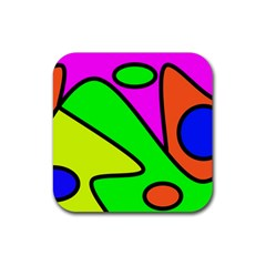 Abstract Drink Coasters 4 Pack (Square)